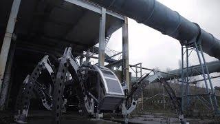 Mantis-удивительная двухтонная шагающая машина
