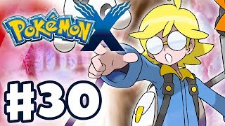 Pokemon X and Y - Gameplay Walkthrough Part 30 - Gym Leader Clemont Battle (Nintendo 3DS)