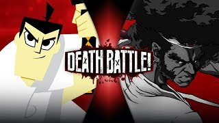 Samurai Jack VS Afro Samurai | DEATH BATTLE!