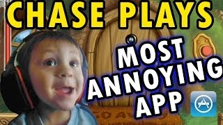 Chase Plays Most Annoying App Ever (2 Year Old Face Cam) Do Not Disturb iOS Gameplay