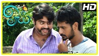 Oyee Tamil Movie Scenes | Geethan and Arjunan plan to expose Eesha | Sangili Murugan