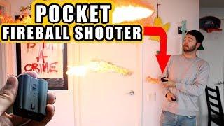 UNBOXING a POCKET FIREBALL SHOOTER!  |  MAGIC TRICKS