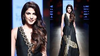 Rhea Chakraborty Turns Showstopper At Lakme Fashion Week
