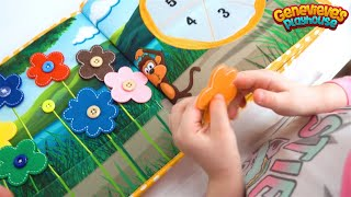 Best Learning Video for Kids: Learn Colors Teach Numbers for Toddlers with Genevieve & Piqipi Book!