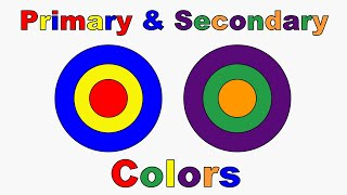 Learn Primary Colors - Primary And Secondary Colors - Learn Colors