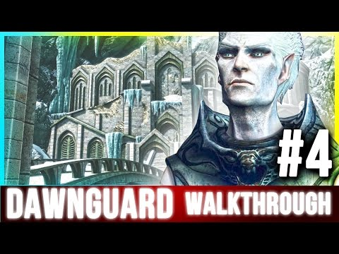Skyrim DAWNGUARD Walkthrough Part 4 (Secret Veil Treasures)