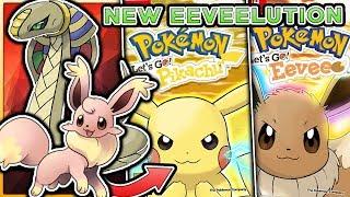 Pokemon Let's Go Pikachu & Let's Go Eevee - NEW Eeveelution & Legendary Pokemon?!