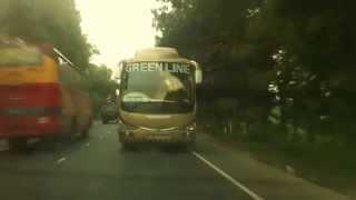 green line scania 1172 approaching like a beast...
