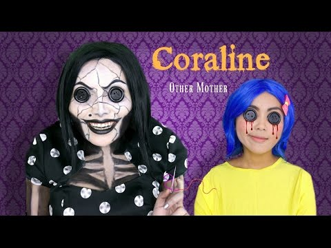 Coraline s Other Mother Makeup Tutorial