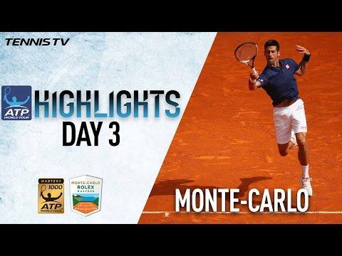 Monte Carlo Highlights Djokovic Haas Advance On Day 3