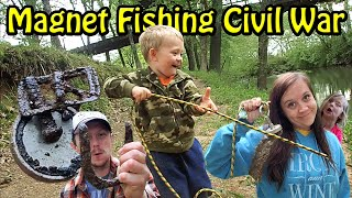 Magnet Fishing Civil War Crossing part 2