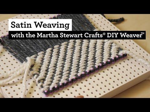 Xxx Mp4 Satin Weaving With The Martha Stewart Crafts® DIY Weaver TM 3gp Sex