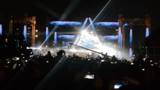 180 درجة  تامر حسنى لايف من حفل جامعة الأهرام الكندية [ 180 Daraga Tamer Hosny Live FromACU Concert]
