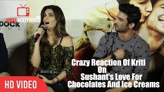 This Is Very Funny | Kriti Sanon Reaction On Sushant