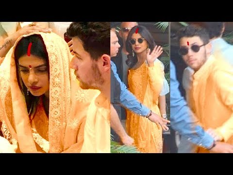 Xxx Mp4 Finally Priyanka Chopra Amp Nick Jonas WEDDING Ceremony Begins With GRAND Pooja With Family 3gp Sex