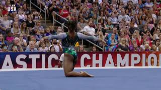 Simone Biles Floor Routine | Champions Series Presented By Xfinity