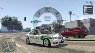 Iranian Police  Mercedes-Benz C32-بنز پلیس ایران by Amini Fard For gta v