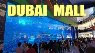Dubai Mall , Biggest Mall In The World - 2016 4K