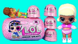 New Clothes for My LOL Dolls LOL Surprise Fashion Crush Opening & LOL Surprise Under Wraps
