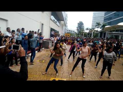 IBM Impulse 2016 Flash MoB -EGL Bangalore