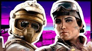 *NEW* Mozzie & Gridlock Gameplay - Rainbow Six Siege Operation Burnt Horizon