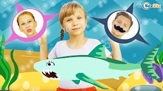Baby Shark Song Nursery Rhymes for Children with Baby Songs!