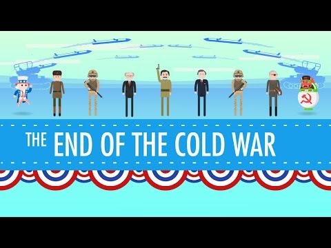 George HW Bush and the End of the Cold War Crash Course US History 44