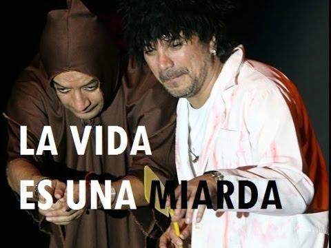 Frank e Igor cantando LA VIDA ES UNA MIARDA