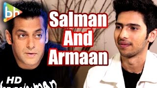 Armaan Malik OPENS UP On Salman Khan's Version Of 'Main Hoon Hero Tera'