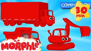 Big Truck Cartoons with Morphle! -Animations for kids