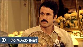 Êta Mundo Bom!: capítulo 56 da novela, terça, 22 de março, na Globo