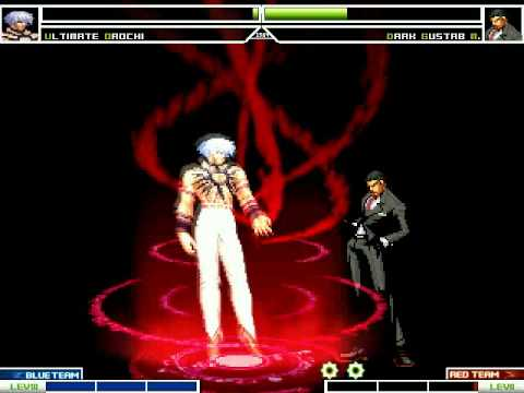 KOF MUGEN Ultimate Orochi Vs Dark Gustab M.