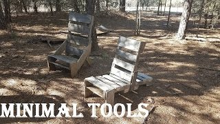 Super simple pallet chair (From 1 pallet!)