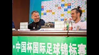 FAWTV PRESS CONFERENCE: CHINA 0-6 WALES