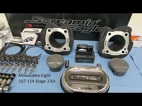 "Download Lagu Milwaukee 8 ""Stage III"" Kit Installed │ 107 - 114 CI Time Lapse Build │ Review and Test Ride MP3"