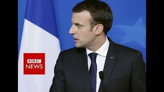French President Macron on France hostage crisis- BBC News