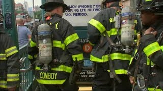 New York City subway riders evacuated from 4 trains after emergency brake incident