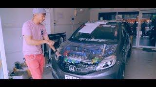 Honda Brio DRAG Car by KJ Modify