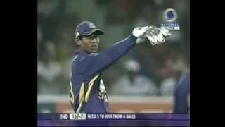 CRICKET THRILLER [ Ind vs SL T20I'09] Last 3 overs!
