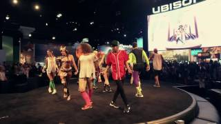 Just Dance 2017 - Worth It (Fith Harmony)@E3 2016 Ubisoft Stage