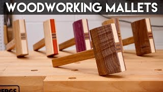Make A Mallet From Scrap Wood | How To - Woodworking / DIY / GIVEAWAY!
