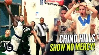 Chino Hills Show NO MERCY In Blowout Win! Eli Scott BODIES Defender!