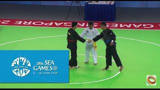 Pencak Silat Tanding Men's Class C Final VIE vs THA (Day 9) | 28th SEA Games Singapore 2015