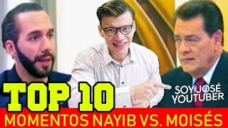TOP 10 MOMENTOS NAYIB VS. MOISÉS URBINA - SOY JOSE YOUTUBER