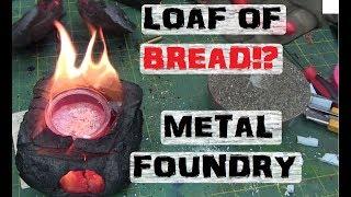 Pyrolized Bread Metal Casting Foundry.