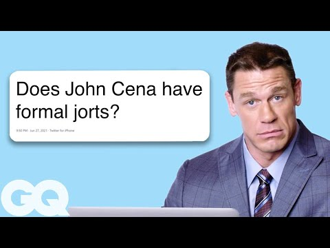 John Cena Goes Undercover on Twitter YouTube and Reddit Actually Me GQ