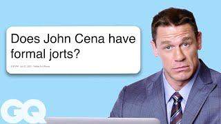 John Cena Goes Undercover on Twitter, YouTube, and Reddit | Actually Me | GQ