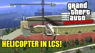 GTA Liberty City Stories - Exploring map in HELICOPTER!