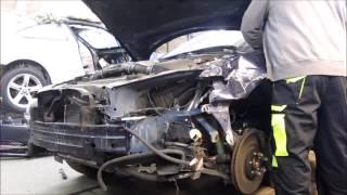 Jaguar SV8. Minor body repair. Небольшой ремонт кузова.