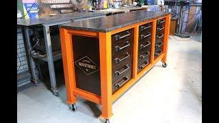 Make a 15 Drawer Workshop Cabinet - Forme Industrious